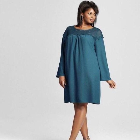 f5078756995 Plus Size Ava   Viv Teal Lace Sleeved Dress 1X. Ava   Viv.  M 5c3985c4534ef909b9173f14. M 5c3983ed3c9844384fec00d2.  M 5c3983f6de6f62945308ef34